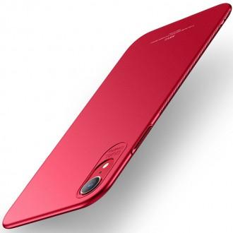 Ултра тънък твърд гръб MSVII за Iphone XR, червен