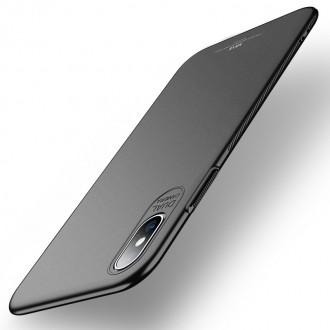 Ултра тънък твърд гръб MSVII за Iphone XS/X, черен