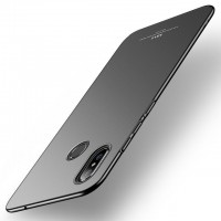 Ултра тънък твърд гръб MSVII за Xiaomi Mi A2, черен