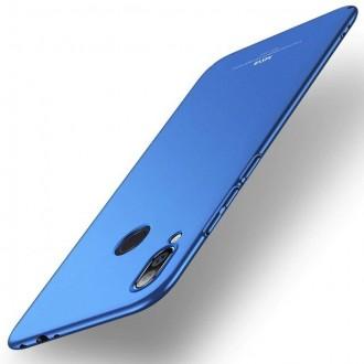 Ултра тънък твърд гръб MSVII за Xiaomi Redmi Note 7 син