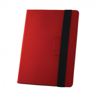 Универсален тефтер за таблет 7-8'' червен