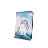 Универсален тефтер за таблет 7-8'' Unicorn (еднорог)