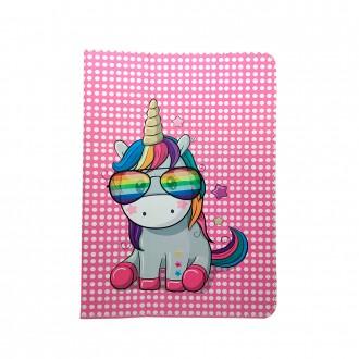 """Универсален тефтер за таблет 7-8"""" Unicorn , многоцветен"""