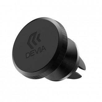 Универсална магнитна стойка за кола Devia Titan черна