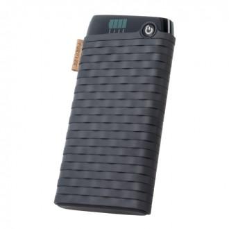 Външна преносима батерия 10000 MAH Forever Power Bank PTB-01 черна
