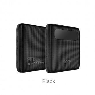 Външна преносима батерия 10000 mAh HOCO Mige B20 ,черна