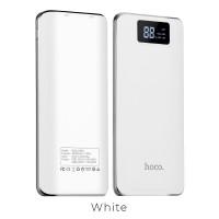 Външна преносима батерия 15000 MAH HOCO Power Bank B23A бяла