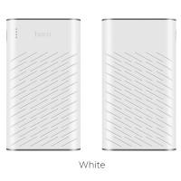 Външна преносима батерия 20000 mAh HOCO Power Bank B31 бяла