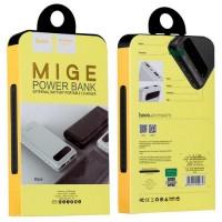 Външна преносима батерия 20000 MAH HOCO Power Bank Mige B20A бяла