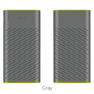 Външна преносима батерия 30000 mAh HOCO Rege B31A ,сива