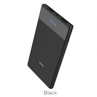 Външна преносима батерия 5000 mAh HOCO Entourage B35D ,черна