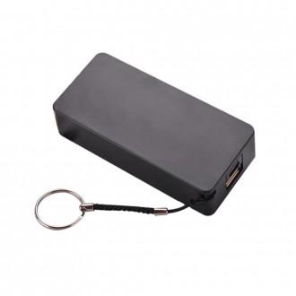 Външна преносима батерия 5200 MAH Setty Power Bank черна