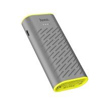 Външна преносима батерия HOCO B31C Sharp 5200mAh ,сива