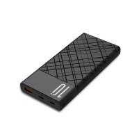 Външна преносима батерия XO Design PR110 10000mAh QC PD, черна