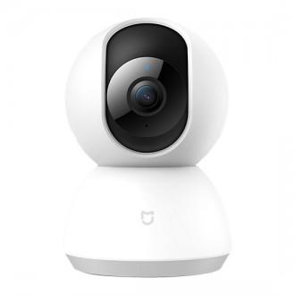 Видеокамера Xiaomi Mi Home Security Camera 360° 1080P QDJ4058GL, Бяла