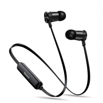 Wireless Безжични bluetooth слушалки Baseus Encok Sports S07 , черни
