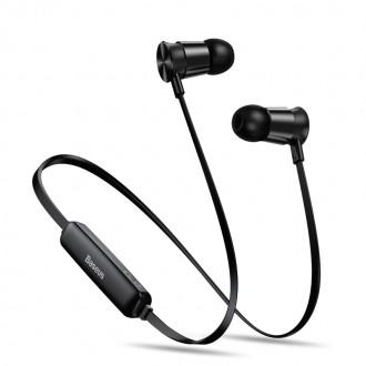 Wireless Безжични bluetooth слушалки Baseus Encok Sports S07 , черни