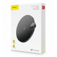 Wirless безжично зарядно Baseus Digital LED Power Display (WXSX-01), черно