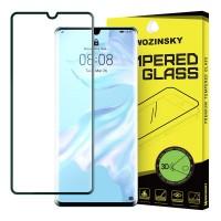 Закалено стъкло за цял екран Wozinsky 3D за Huawei P30 Pro, черна рамка