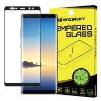 Закалено стъкло за цял екран Wozinsky 3D за Samsung Note 8 ,черна рамка