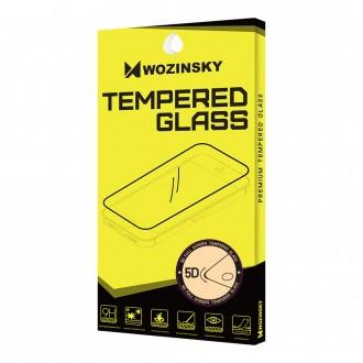 Закалено стъкло за цял екран Wozinsky FULL Glue 5D за Huawei P10 lite, черна рамка
