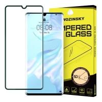 Закалено стъкло за цял екран Wozinsky FULL Glue 5D за Huawei P30 Pro, черна рамка
