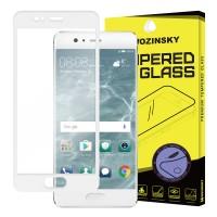 Закалено стъкло за цял екран Wozinsky за Huawei P10 ,бяла рамка