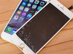 iphone счупен дисплей